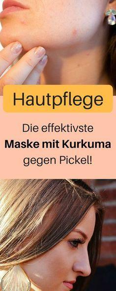 Kurkuma Maske gegen Pickel. Das passiert, wenn du jeden Morgen Kurkuma Wasser tr…