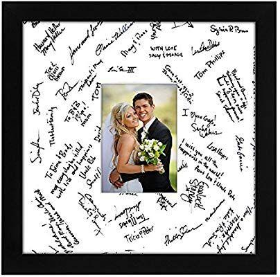 Amazon Com Americanflat 14x14 Wedding Signature Picture Frame Black Signature Picture Frame Wedding Picture Frames Picture Frame Display