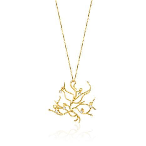 "Disney's Beauty and the Beast ""Belle's Branch"" Pendant"