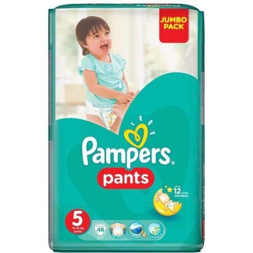 Pampers 5 plenkové kalhotky Junior 12-18kg 48ks  Plenky Pampers pro Vaše děťátko levně! Doprava zdarma při objednání nad 1000 Kč!   https://babyplenky.cz/