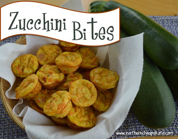 If you're asking what to do with your zucchini, the answer is to make these zucchini bites!