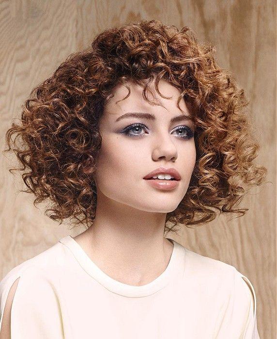 Medium Curly soft Hairstyles