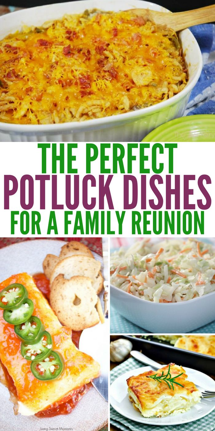 the perfect potluck dishes for a family reunions | one crazy house