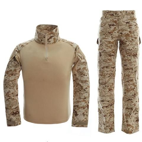 Army Military Tactical Combat Uniform Clothes With Knee Pads – 520outdoor