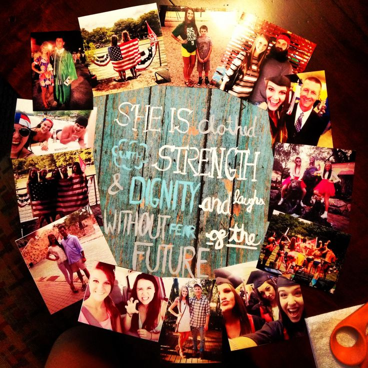Made This To Hold Pictures In My Dorm Room #diy #dorm #pictures # ·  Graduation GiftsGraduation IdeasDorm ... Part 34