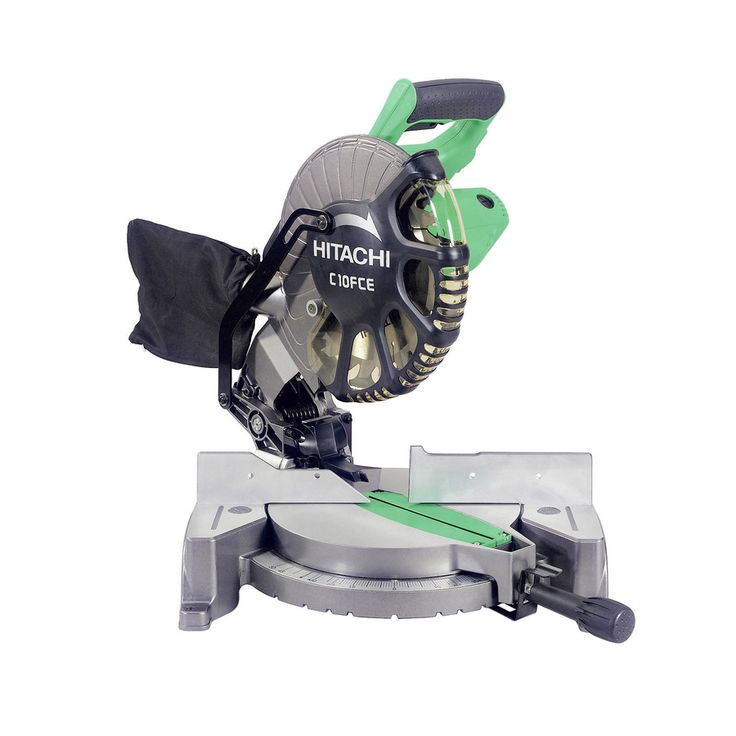 shop hitachi 10 in 15 amp bevel compound miter saw at lowescom