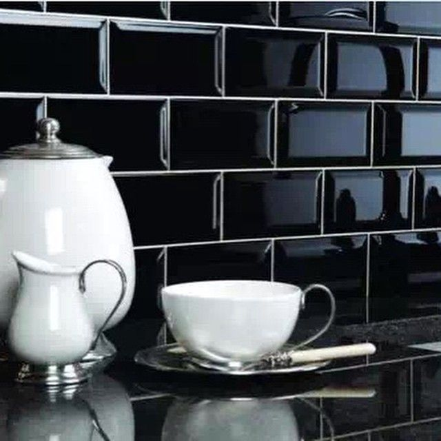 Black Kitchen Tile 234 best | kitchen splashbacks | images on pinterest | kitchen