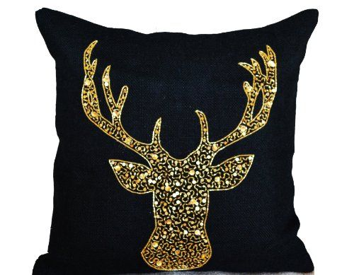 Amore Beaute Handcrafted Deer Pillow Cover - Animal Pillo... https://www.amazon.com/dp/B00EZTARO6/ref=cm_sw_r_pi_dp_.duwxbSGV2810