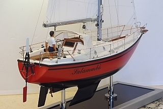Salammbo 31 feet sailboat, which sail around the world