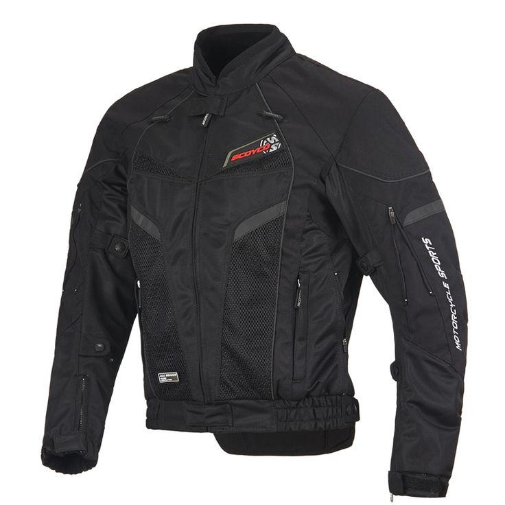 SCOYCO Motocross Off Road Racing Chaqueta Moto Touring Riding Jacket con protectores Pads JK40