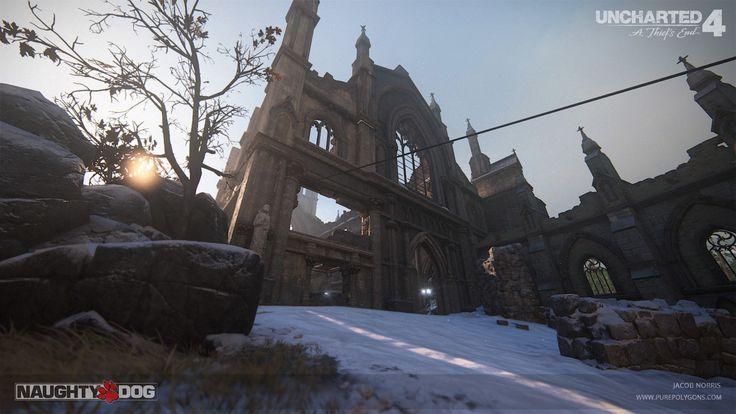 ArtStation - Uncharted 4 - Scotland Multiplayer (Part 2), Jacob Norris