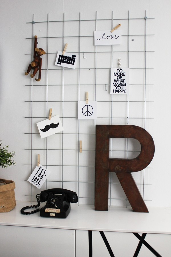 Via Inspiration & Design  | Home Office | White | Kay Bojesen Monkey | Letter R