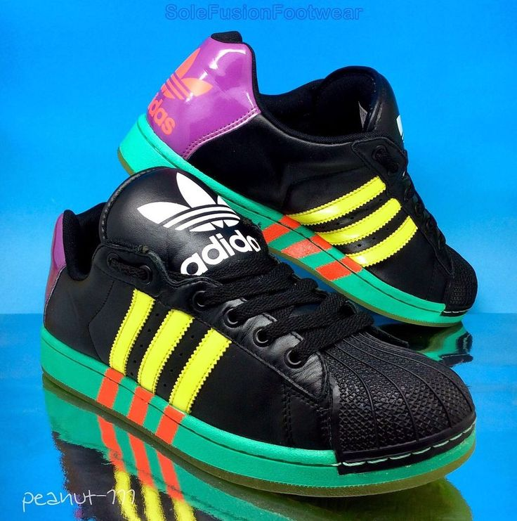 adidas Superstar Mens Ultrastar Trainers Black size 9 Skate Sneakers US 9.5 43.6 in Clothes, Shoes & Accessories, Men's Shoes, Trainers | eBay