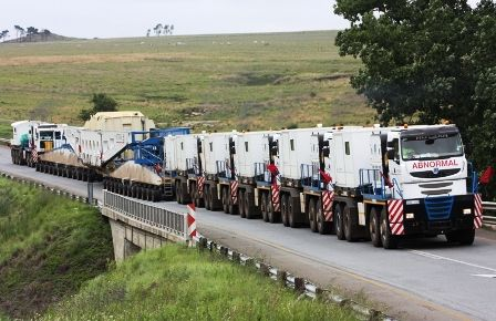 Road Train.......Australia style.