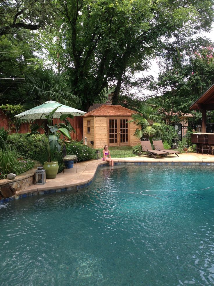 17 best images about pool cabanas and pool houses on for Pool houses and cabanas