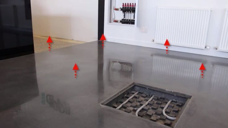 ANSWERED: How does a Hydronic Underfloor Slab Heating System Work?