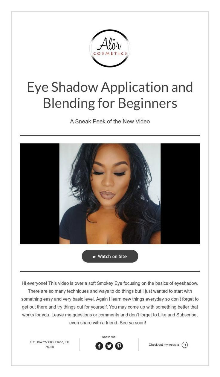 Eye Shadow Application and Blending for Beginners