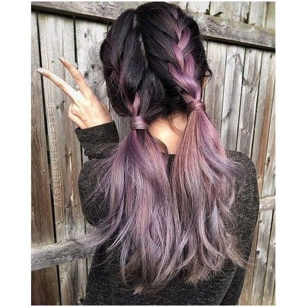 20 Purple Ombre Hair Color Ideas ❤ liked on Polyvore featuring hair and pictures