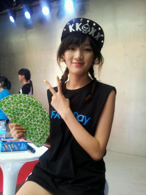 """[JYP Fan's Day] miss A """"jia"""". ©JYP Entertainment Official Twitter https://twitter.com/JYPEOFFICIAL"""