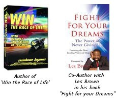 Combo of Win the Race of Life and Fight for your dream, physical book.  http://www.nadineracing.com/shop