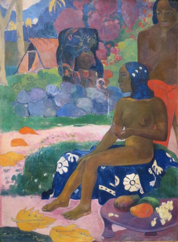 Paul Gauguin, Vairaumati téi oa (Her Name was Vairaumati), 1892, Pushkin Museum, Moscow