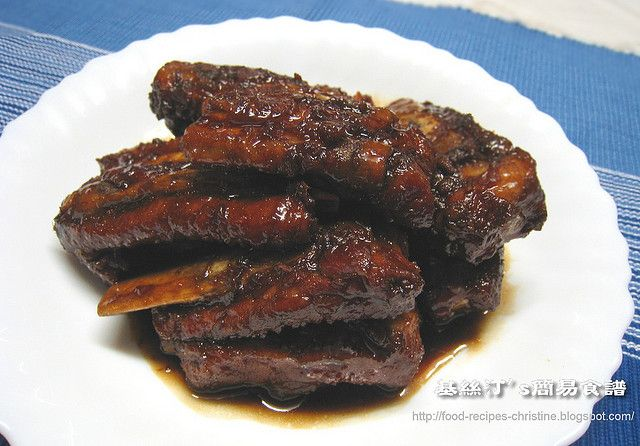 糖醋排骨sweet and sour spareribs