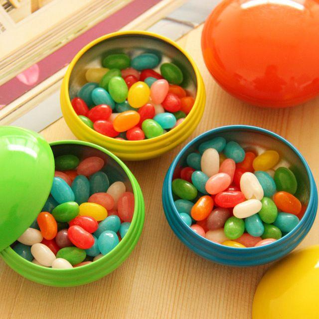 Новое прибытие Завода непосредственно продажу свадьбы пользу конфеты цветные радужные разноцветные коробки благосклонности жестяной коробке коробки благосклонности Оптовая