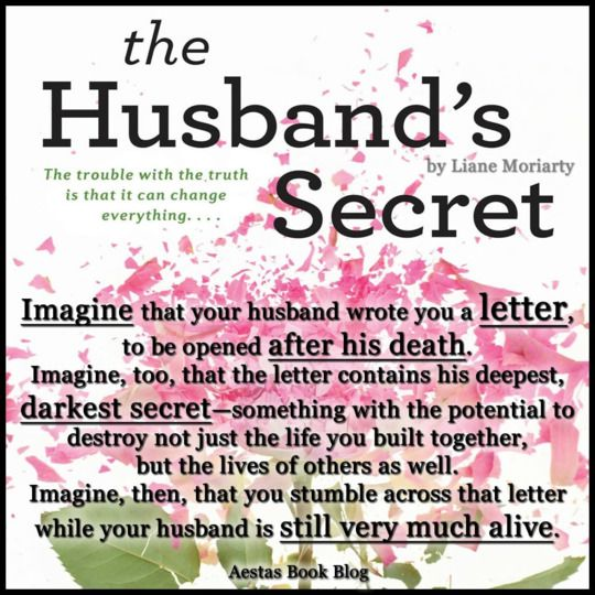The Husband's Secret by Liane Moriarty — Reviews, Discussion, Bookclubs, Lists