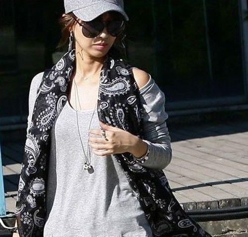 Écharpe fashion pour femmes mode automne 2014