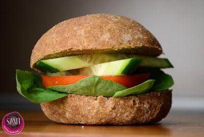Tojásmentes paleo zsemle (gluténmentes, szénhidrátszegény, vegán zsemle)