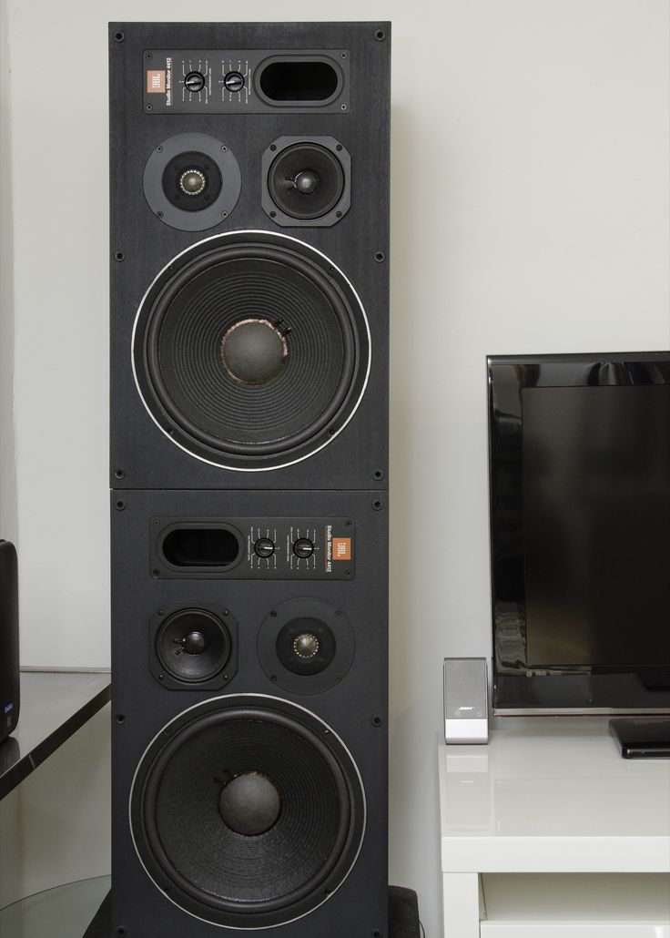 My 26 Year old 4412's with NEW Factory JBL offical surrounds, These 1989 pair were the last of the wood finish studio monitors.