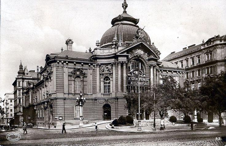 Vígszínház 1900 körül
