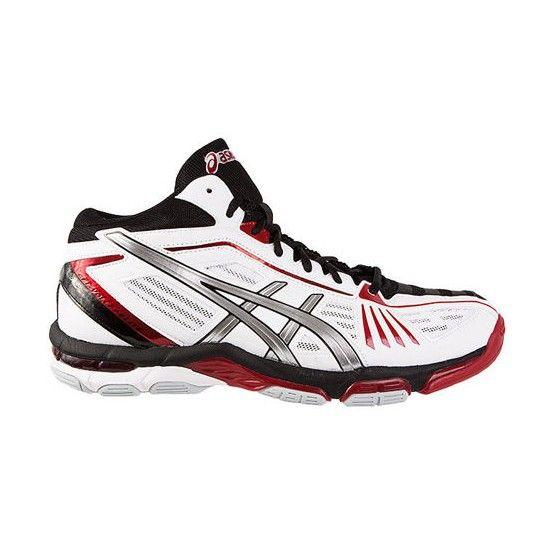 Asics Volley Elite 2 MT röpladás cipő férfi fehér,piros