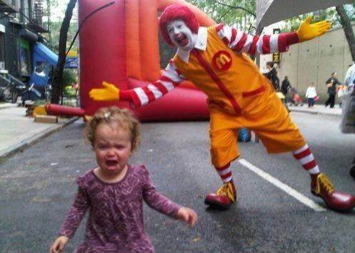 Enge #!&% clowns ook altijd