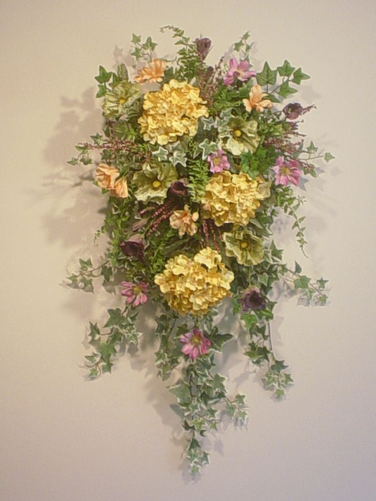 119 best images about spring wreaths on pinterest Spring flower arrangements for front door