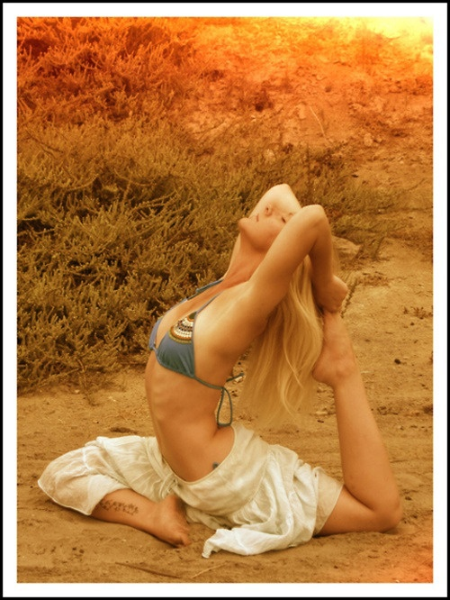 yoga~sun~water~light