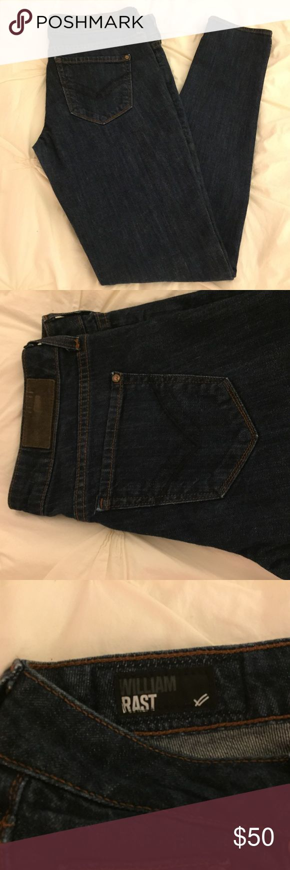 "William Rast jeans William Rast skinny jeans 41"" inseam cotton elastane William Rast Jeans Skinny"