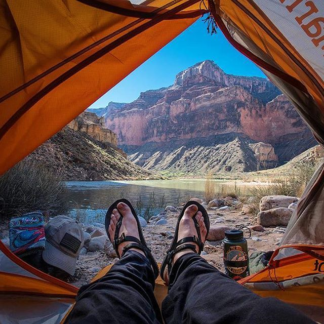 Adventure of a lifetime. A month on the Colorado River in the Grand Canyon. Nankoweep camp. @wildernesspro #LUNAsandals #adventuresandals #riversandals #coloradoriver #grandcanyon #rafting