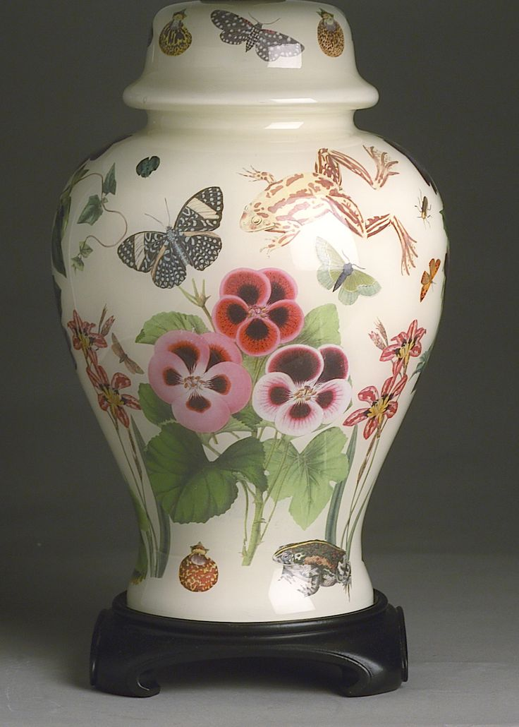 J.Covington*Design: Designer Decoupage Lamps