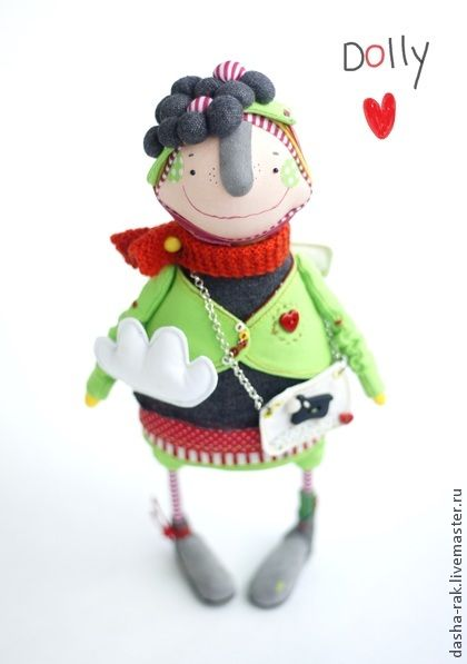 Коллекционные куклы ручной работы. Ярмарка Мастеров - ручная работа ангел Dolly. Handmade.