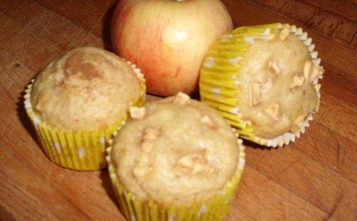 Muffins de manzana y miel