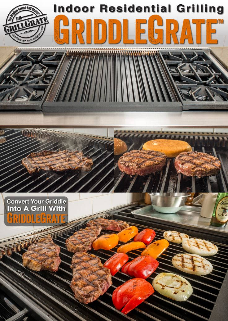 Awesome Convert Any Flat Top Into A Grill With GriddleGrate! GriddleGrate Is  Essentially GrillGrate Without The