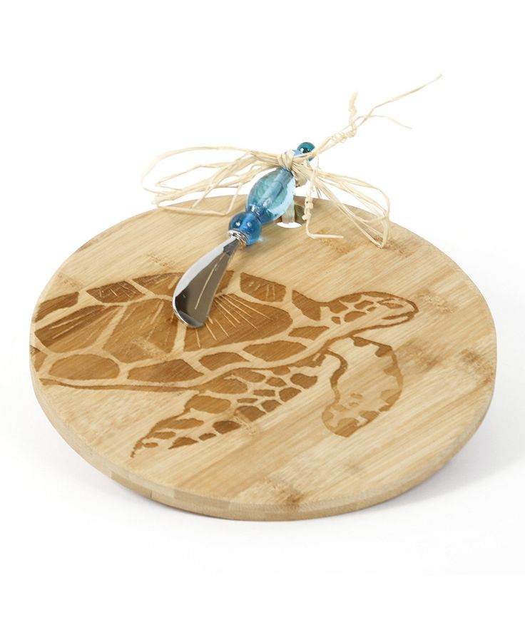 Look at this Turtle Cheese Board