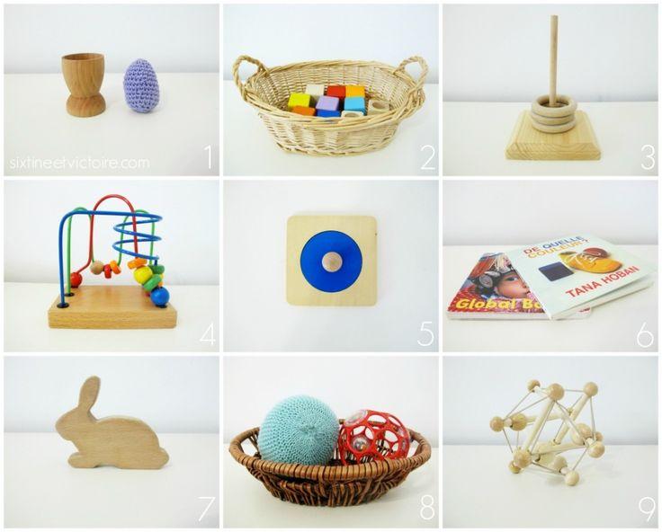 On Our Montessori Shelves - 10 months - infant toys - via sixtineetvictoire.com