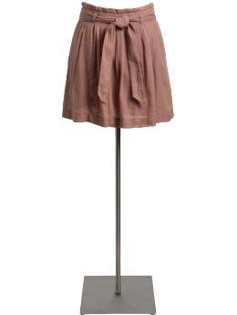 Women's Pleated Tie-Belt Skirts $15