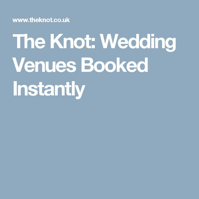 the knot wedding venues booked instantly