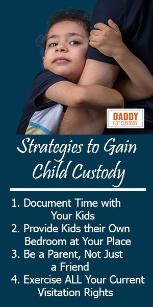 One of our favorite topics is giving Dads tips on how you can gain child custody of your children, either jointly, or (our preference in most cases) sole #custody. Following them will not only give you an advantage in court, but provide you a confidence, insight, and maturity in dealing with your children.  Click Pic to Read More... (via http://DaddyGotCustody.com)