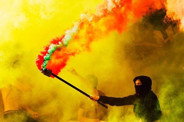 No pyro, no party! #UltrasWorld