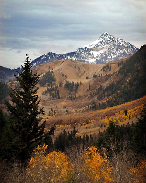 Mount Timpanogos Late Fall, Utah | * United States of ...