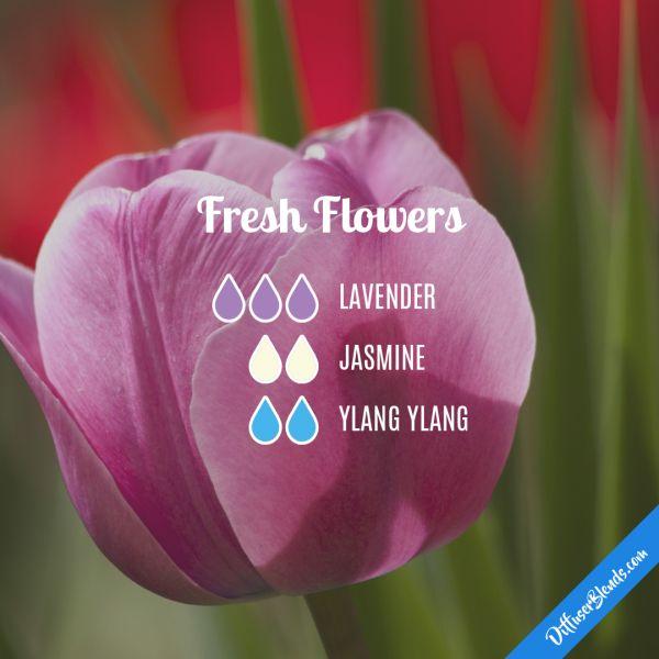 Fresh Flowers - Essential Oil Diffuser Blend